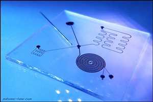Prototype de microfluidique Marché
